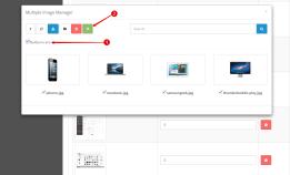 Множественная загрузка изображений в Opencart 2
