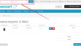 Форма авторизации в шапке на Opencart 2.x