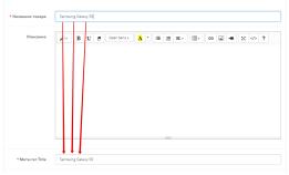 Модуль Автозаполнение Meta Title Opencart 2.x