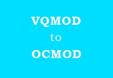 VQMOD OPENCART 2.3